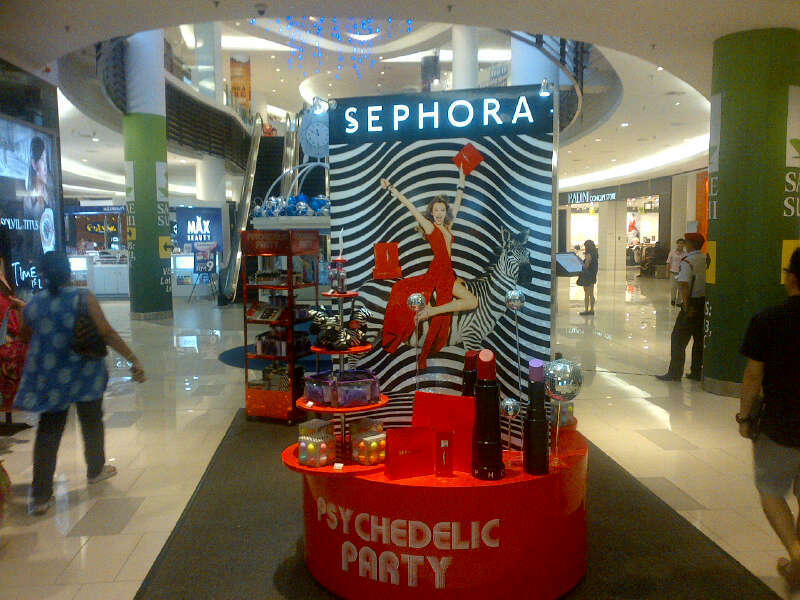 Sephora activation at Paradigm Mall, Petaling Jaya
